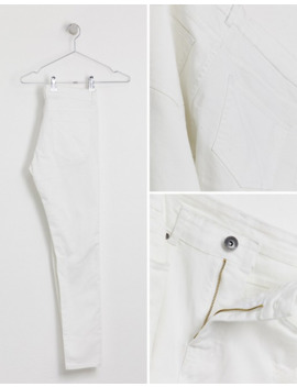 apt-destroyer-ripped-jeans-in-white-super-skinny-fit by asos