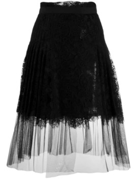 pleated-lace-midi-skirt by ermanno-scervino