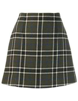 checked-a-line-skirt by alexa-chung
