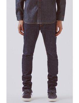 fear-of-god---fog-essentials-raw-indigo-skinny-taper-jeans by pacsun