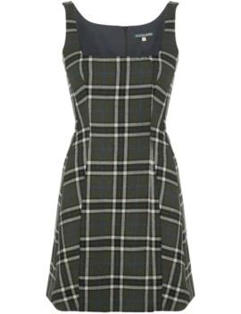 checked-mini-dress by alexa-chung