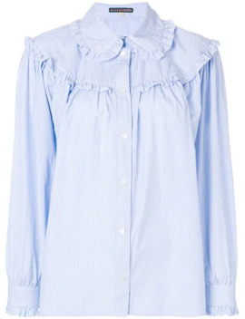 ruffled-stripe-shirt by alexa-chung