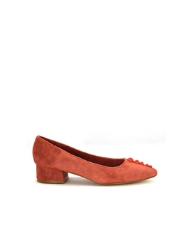 Synthetic Leather Court Shoe by Sembonia