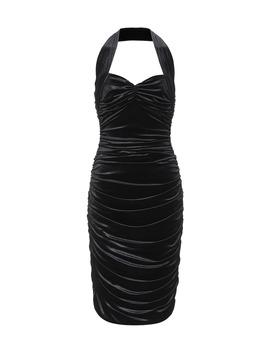bill-stretch-velvet-dress by norma-kamali