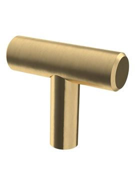 1-9_16-in-(40-mm)-champagne-bronze-bar-cabinet-knob by liberty