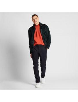 pantaloni-chino-antivento-elasticizzati-slim-uomo by uniqlo