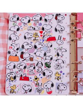 40pcs-_-pack-snoopys-sticker-kawaii-cartoon-dog-sticker-decoration-sticker-diy-craft-album-stickers-scrapbooking-cute-stationary by aliexpresscom