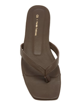 leather-thong-sandals by gia-x-pernille-teisbaek