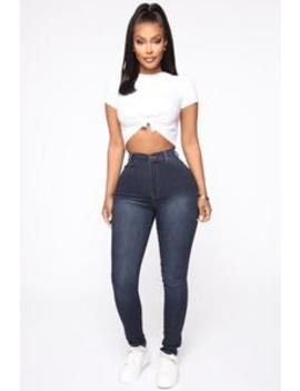 classic-high-waist-skinny-jeans---blue-wash by fashion-nova