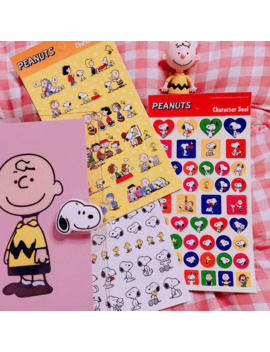 ins-popular-cute-cartoon-snoopy-sticker-for-handbook-notebook-diary-decorative-mobile-phone-diy-stickers-childrens-gift by aliexpresscom