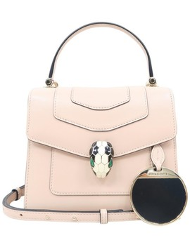small-serpenti-forever-light-pink-lambskin-leather-satchel by bvlgari