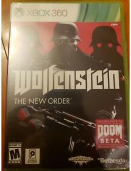 wolfenstein-the-new-orderxbox-360***sealed***brand-new***!!!!!! by ebay-seller