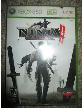 ninja-gaiden-ii-2-(xbox-360,-2008)-w_-case by ebay-seller