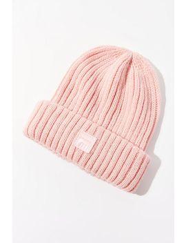 fila-monochrome-knit-beanie by fila