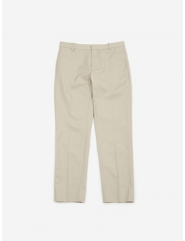Tristan Trouser   Light Khaki by Wood Wood