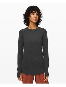 Still Lotus Sweater Reversible New by Lululemon