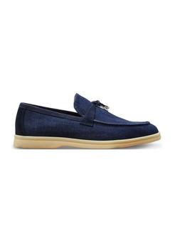 summer-charm-denim-slippers by loro-piana