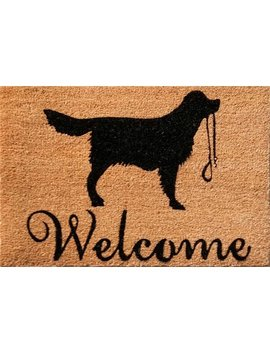 ivyland-welcome-dog-silhouette-doormat by alpen-home