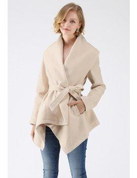Prairie Rabato Coat In Cream Prairie Rabato Coat In Pink Prairie Grid Rabato Coat In White Prairie Grid Rabato Coat In Black Prairie Check Rabato Coat By Chic+ by Chicwish