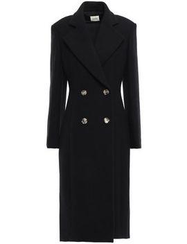 double-breasted-wool-felt-coat by khaite