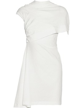 Overlay Asymmetrical  Casual Dress by Rick Owens