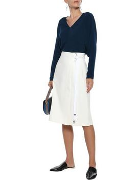 washed-crepe-top by tibi