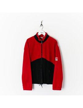Marlboro Zip Fleece Red/Black Xl by Marlboro