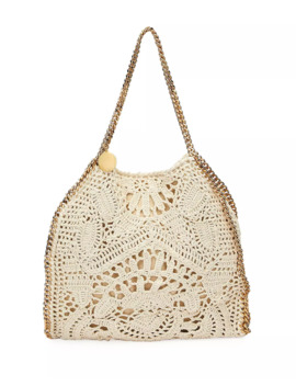 falabella-small-crocheted-cotton-ajouree-tote-bag by stella-mccartney