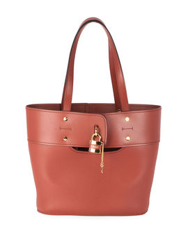 aby-small-lock-and-key-tote-bag by chloe