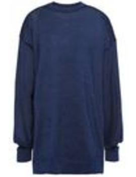 cutout-stretch-knit-sweater by tibi
