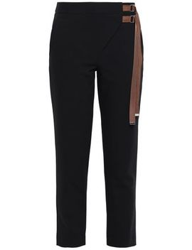 buckled-crepe-tapered-pants by tibi