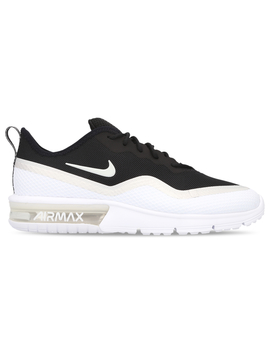 Nike Women's Air Max Sequent 4.5 Shoe   Black/Platinum Tint White by Nike