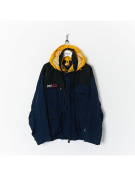 Tommy Hilfiger Outdoors Expedition Coat Navy/Yellow/Black Xl by Tommy Hilfiger