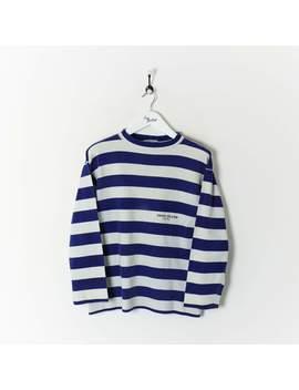 Stone Island Marina Sweatshirt Blue/White Small by Stone Island