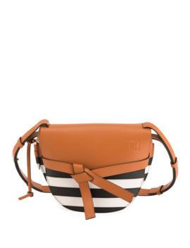 gate-marine-small-striped-crossbody-bag by loewe