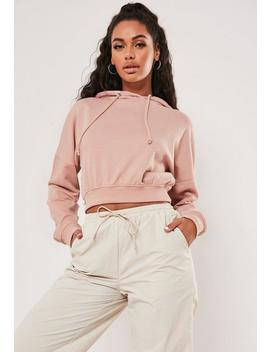 Petite Beige Pullover Hoodie by Missguided