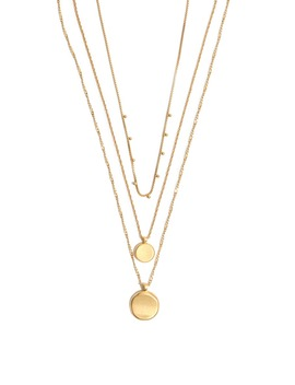 coin-layered-necklace by madewell