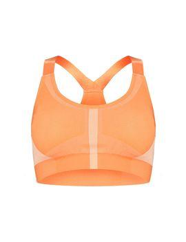 orange-seamless-scoop-neck-gym-crop-top by prettylittlething