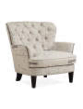 Paris Script Tufted Accent Chair by Paris Script Tufted Accent Chair