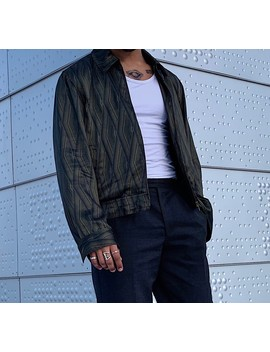 dries-van-noten-geometric-pattern-jacket by dries-van-noten  ×