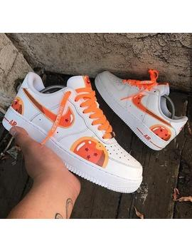 nike-air-force-ones--anime-flavor by etsy
