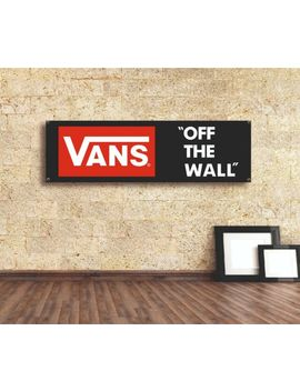 vans-sign-vinyl-banner-flag-workshop-adversting-gift-décor-adversting-showroom by ebay-seller