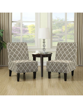 Brodee Slipper Chair Set by Handy Living