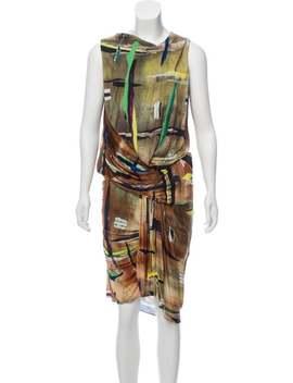 sleeveless-midi-dress by balenciaga