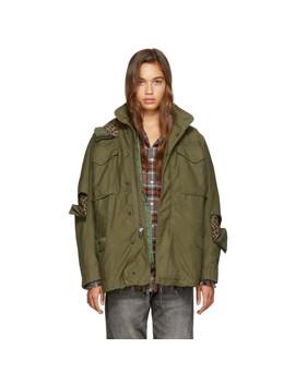 khaki-leopard-m65-field-jacket by r13