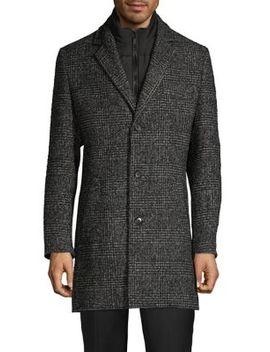 checkered-long-coat by sondergaard
