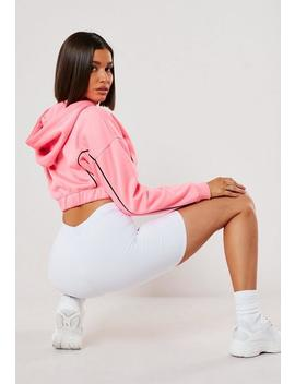 White Slinky Cycling Shorts by Missguided
