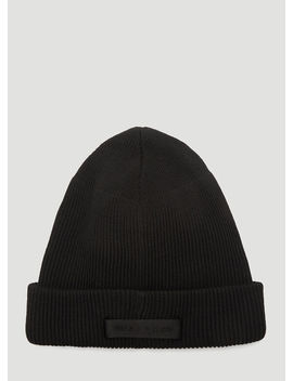 ribbed-wool-beanie-hat-in-black by 1017-alyx-9sm
