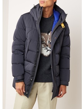 shedir-longline-puffer-jack-met-capuchcon by parajumpers