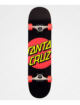 "Santa Cruz Red Dot 8.0"" Skateboard Complete by Santa Cruz Skate"